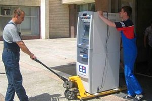 Перевозка банкоматов в Москве