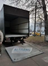 Автомобиль грузоподъемностью 5 тонн с гидробортом